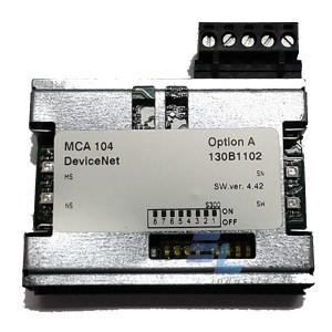 130B1102 Плата VLT® DeviceNet MCA 104, без покриття. Danfoss