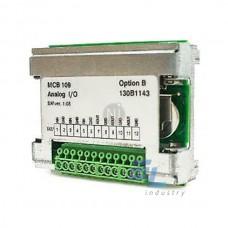 130B1143 VLT Аналогові входи / виходи Option MCB 109/ Danfoss