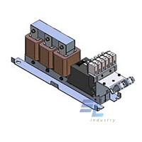 130B2283 Синусоїдальний  фільтр Danfoss  75А 37кВт IP00