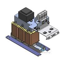 130B2406  Синусоїдальний фільтр  500В/1.5 кВт ,4.5А ,50/60Гц ,IP00