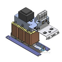 130B2409 Синусоїдальний фільтр 10А, 4 кВт, 500 В / 50-60 Гц, IP00