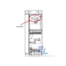 132B0131 Заглушка (кришка на місце панельки LCP) для захисту роз'єму LCP