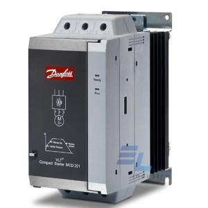 175G5170 Пристрій плавного пуску Danfoss, 37кВт ,75А, IP20, MCD201037T4CV3
