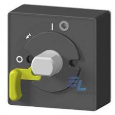 3VT9100-3HG10 Додаткове обладнання Siemens для VT160 лицьова панель для дверного поворотного механізму, для чорної рукоятки, IP 40