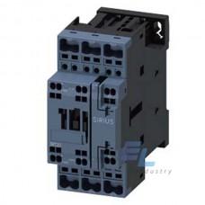 3RT2024-2NF30 Контактор Siemens 3RT, Іном. 12 А, АС/DС 95…130 В, блок-контакти 1НО/1НЗ