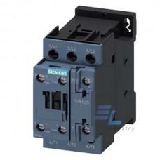 3RT2024-1AV60 Контактор Siemens 3RT, Іном. 12 А, АС 480 В, блок-контакти 1НО/1НЗ