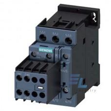 3RT2024-1AF04 Контактор Siemens 3RT, Іном. 12 А, АС 110 В, блок-контакти 2НО/2НЗ