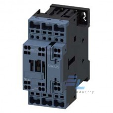 3RT2023-2AK60 Контактор Siemens 3RT, Іном. 9 А, АС 110 В, блок-контакти 1НО/1НЗ