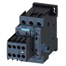 3RT2023-1AG24 Контактор Siemens 3RT, Іном. 9 А, АС 110 В, блок-контакти 2НО/2НЗ