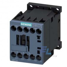 3RT2018-1AB02 Контактор Siemens 3RT, Іном. 16 А, АС 24 В, блок-контакти 1НЗ