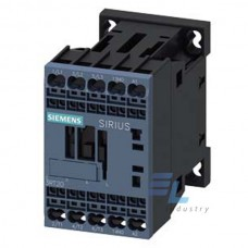 3RT2017-2KA42 Контактор Siemens 3RT, Іном. 12 А, DС 12 В, блок-контакти 1НЗ