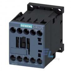 3RT2017-1AQ01 Контактор Siemens 3RT, Іном. 12 А, АС 380 В, блок-контакти 1НВ