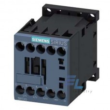 3RT2017-1AF01 Контактор Siemens 3RT, Іном. 12 А, АС 110 В, блок-контакти 1НВ