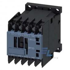 3RT2016-4AG62 Контактор Siemens 3RT, Іном. 9А, АC 100 В, блок-контакти 1НЗ