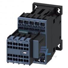 3RT2016-2DB44 Контактор Siemens 3RT, Іном. 9А, DС 24 В, блок-контакти 2НВ/2НЗ