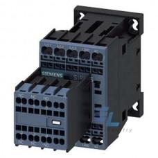 3RT2016-2BB44 Контактор Siemens 3RT, Іном. 9А, DС 24 В, блок-контакти 2НВ/2НЗ