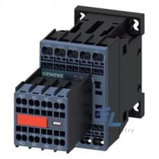3RT2016-2BB44-3MA0 Контактор Siemens 3RT, Іном. 9А, DС 24 В, блок-контакти 2НВ/2НЗ