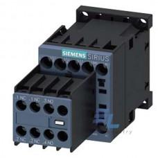 3RT2016-1BB44 Контактор Siemens 3RT, Іном. 9А, DС 24 В, блок-контакти 2НВ/2НЗ