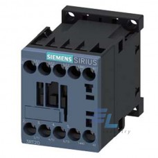 3RT2016-1BA41 Контактор Siemens 3RT, Іном. 9А, DС 12 В, блок-контакти 1НВ