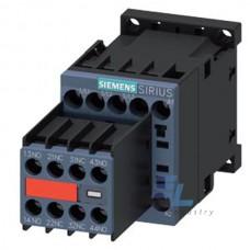 3RT2016-1FB44-3MA0 Контактор Siemens 3RT, Іном. 9А, DС 24 В, блок-контакти 2НВ/2НЗ