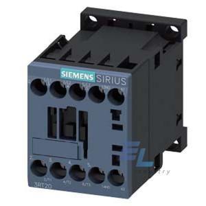 3RT2016-1AG62 Контактор Siemens 3RT, Іном. 9А, АС 100 В, додаткові контакти 1НЗ
