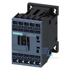 3RT2015-2AD02 Контактор Siemens 3RT, Іном. 7А, АС 42 В, блок-контакти 1НЗ