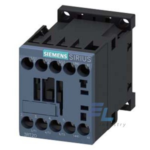 3RT2015-1AB01-2AA0 Контактор Siemens 3RT, Іном. 7А, АС 24 В, блок-контакти 1НВ