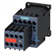 3RT2015-1BB44-3MA0 Контактор Siemens 3RT, Іном. 7А, DC 24 В, блок-контакти 2НВ/2НЗ