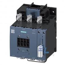 3RT1075-6PF35 Контактор Siemens 3RT, Іном. 400А, АС/DC 96…127 В, додаткові контакти 1НВ/1НЗ