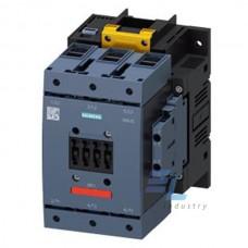 3RT1054-1SP36-3PA0 Контактор силовий Siemens 3RT, АС-3, 115А, 55кВт/400В, допоміжні контакти 2НВ/2НЗ