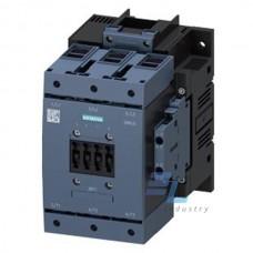 3RT1054-3AR36 Контактор Siemens 3RT, Іном. 115А, АС/DC 440…480 В, допоміжні контакти 2НВ/2НЗ