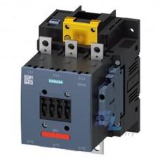 3RT1054-6SP36-3PA0 Контактор силовий Siemens 3RT, Іном. 115А, АС/DC 200…277 В, допоміжні контакти 2НВ/2НЗ