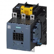3RT1054-6SP36 Контактор силовий Siemens 3RT, Іном. 115А, АС/DC 200…277 В, допоміжні контакти 2НВ/2НЗ