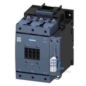 3RT1054-1PP35 Контактор Siemens 3RT, Іном. 115А, АС/DC 200…277 В, додаткові контакти 1НВ/1НЗ